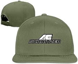 ZaHome Adult AC Schnitzer A Flat-Brim Hat Adjustable Freestyle Cap