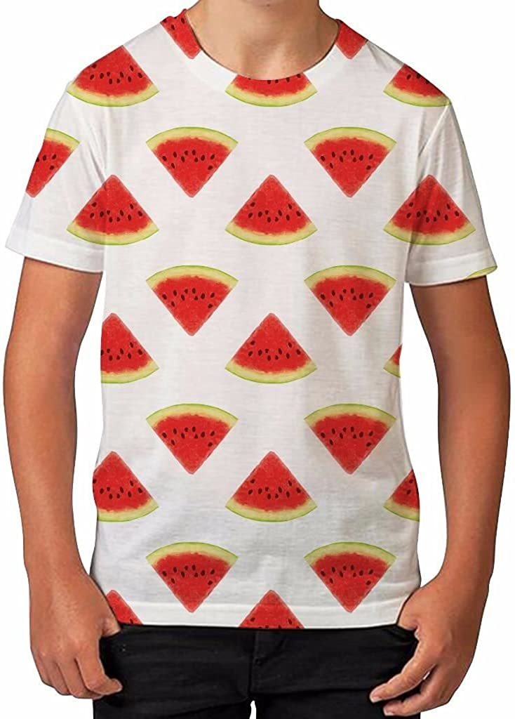 boys watermelon sublimation transfer ready to press ants carrying watermelon summer Tshirt Transfer kids cotton tshirt transfer