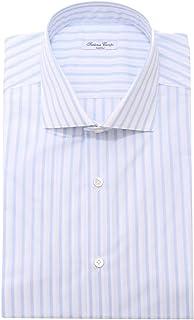 SARTORIA CAMPO 0747AE Camicia uomo Cotton Blue Shirt Men