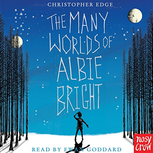 The Many Worlds of Albie Bright audiobook cover art