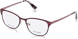 Guess Women's Optical Frame, 49mm, Purple