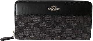 Coach Signature Accordion Zip Wallet