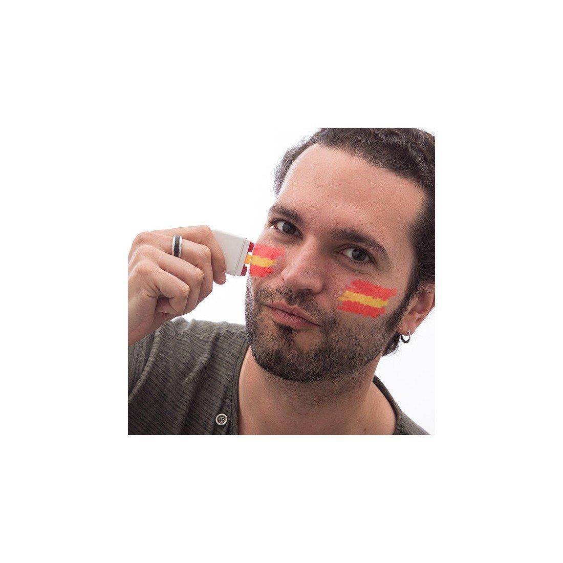 Genérico - Pintura bandera de españa para cara: Amazon.es: Hogar