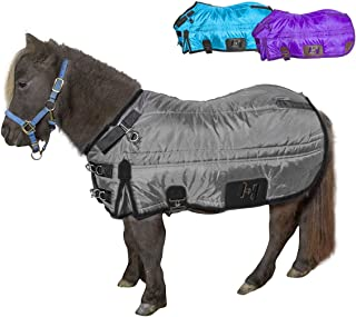 Derby Originals Windstorm Series Premium Mini Horse and Pony Winter Stable Blanket with 420D Breathable Nylon Exterior
