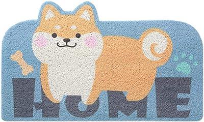 Door Mat, BIGBOBA Non-Slip Doormat Cotton Door Mat Mud Dirt Trapper Mats Entrance Rug Shoes Scraper Floor Indoor Carpet for Doorstep Hallway Entry Kitchen Bedroom