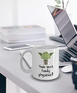 Family Physician Mug Yoda Best Family Physician Gifts Star Wars Mug Yoda Best