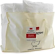 Gabel Nottetempo Piumino Caldissimo 235 gr/mq, Imbottitura 30% Piumino, 70% Piumetta, Fodera Puro Cotone, Bianco, Singolo, 205 x 155 x 2 cm