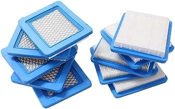 Colmena Filtro Pack de 10Filtro de aire para Briggs and Stratton 491588491588S 4915885399959JOHN DEERE PT15853