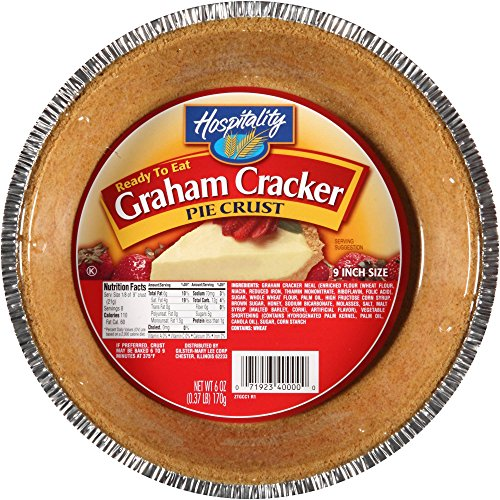 Hospitality Graham Cracker Pie Crust, 3 Count