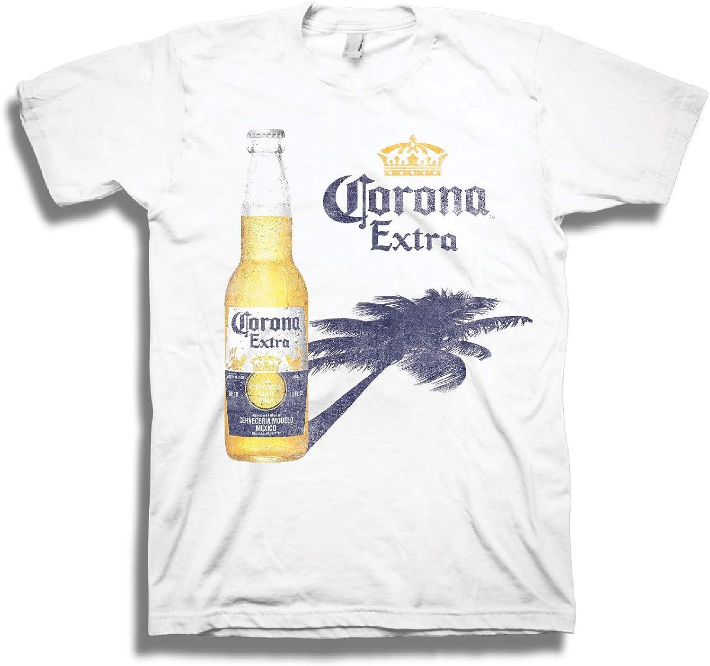 Men's Corona LA Cerveza T-Shirt Virginia Attention brand Beach Mall MAS FINA