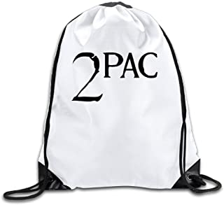 2pac Lightweight Drawstring Gift Bags Backpack White Size One Size