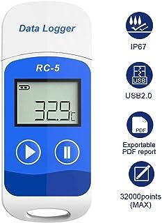 Registrador de Datos de Temperatura USB RC-5 32000 Puntos