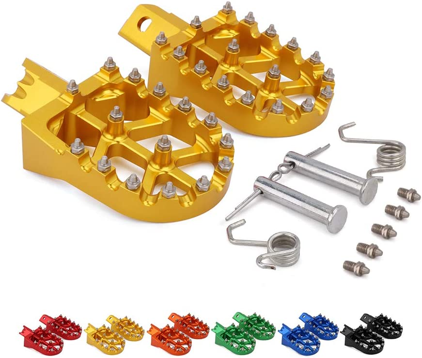 Motorcycle Foot Pegs Max 51% Bombing free shipping OFF Rest Pedal Footpegs For 70 Pi 110 XR 50 CRF