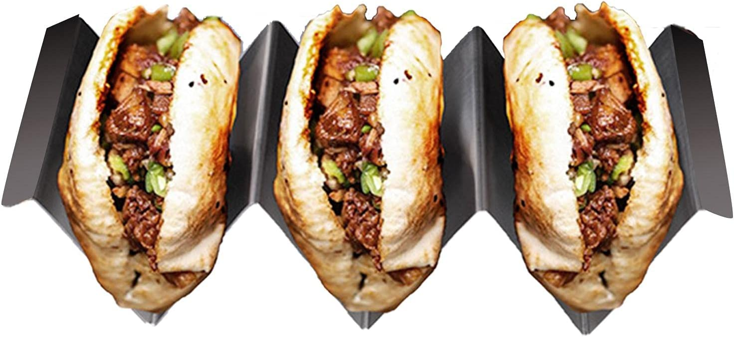 Now free shipping Taco Holders Stainless Steel Rack with Shell Fill Handles OFFicial store