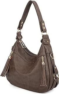 UTO Women's Synthetic Hobo Stylehoulder Bag One Size Khaki