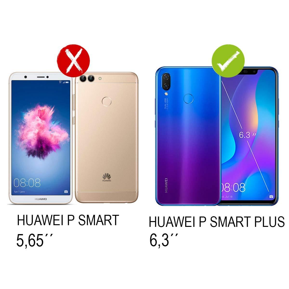 PLANETMOVIL [Huawei P Smart Plus + 63 Pulgadas Pack de protección ...