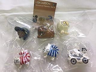 リサラーソン ミニチュアファブリカ vol.4 全6種セット 海洋堂 ガチャ ベイビーマイキー LISALARSON 北欧