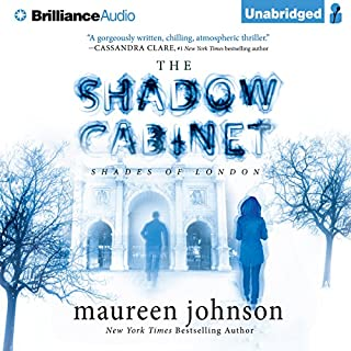 The Shadow Cabinet audiobook cover art