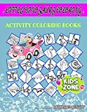 Little Dinosaurs Coloring: Activity Coloring Book 55 Funny Velociraptor, Alvarezsaurus, Dilophosaurus, Indominusrex, Edmontosaurus, Styracosaurus, ... Suchomimus For Kids 8-10 Image Quizzes Words