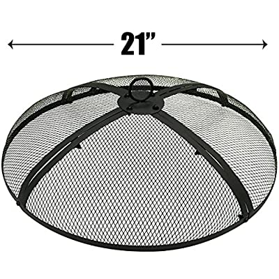 EasyGo 21 INCH Round FIRE Screen – FIRE Pit Cover – FIRE Screen Protector