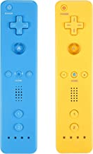 $29 » Sponsored Ad - Yosikr Wireless Remote Controller for Wii Wii U - 2 Packs Yellow and Blue