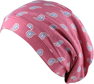 Girls Satin Lined Slouchy Beanie Cap with Premium Elastic Band