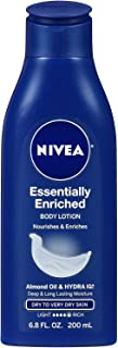 NIVEA Essentially Enriched Body Lotion, 6.8 oz (Pack of 2)