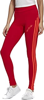 adidas Originals Women's Adicolor Sliced Trefoil High-Waisted Tight