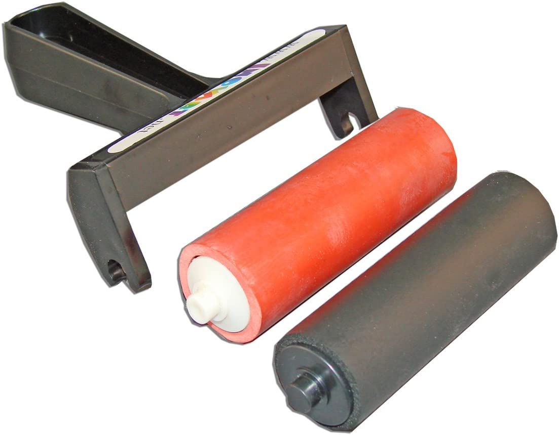 INOVART Snap Out Large discharge sale Brayer Jacksonville Mall Set inch 4 - 4-inch