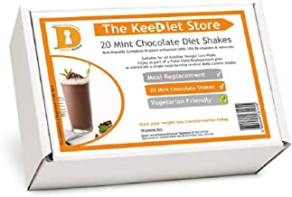 20 Mint Chocolate Meal Replacement VLCD Diet Shakes by KeeDietA Estimated Price : £ 25,99