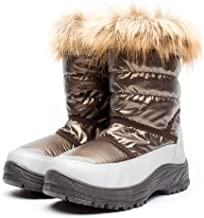 DRKA Women's Snow Boots with Fur Lined, Lady's Waterproof and Non-Slip Winter Boots