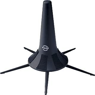 K & M 15240 Flugelhorn Portable 5-Leg Base-Black Music Stand (15240.000.55)
