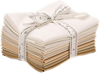 Bella Solids Lights Neutral 12 Fat Quarters Moda Fabrics 9900AB 131