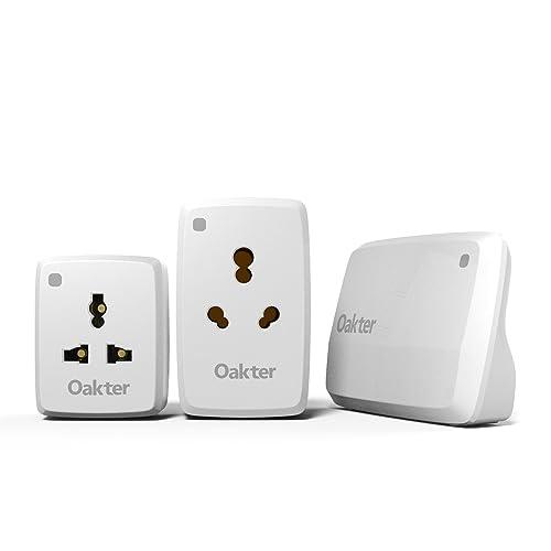 Oakter Basic smart home Kit- control appliances from smartphone, White