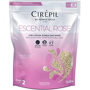 Cirepil Escential Rose ALL PURPOSE SCENTED Wax Refill Bag, 800g/28.22oz
