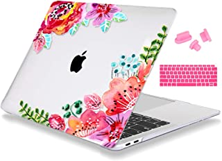 Mektron MacBook Air - Estuche de 13 pulgadas A1932, cubierta de plástico rígido y tapa de teclado para MacBook Air 13