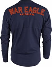 Official NCAA Auburn Tigers Women's Sheer Long Sleeve Tee with Thumbholes