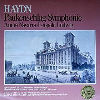Joseph Haydn , André Navarra , Leopold Ludwig - Paukenschlag-Symphonie - Eurodisc - 63 733