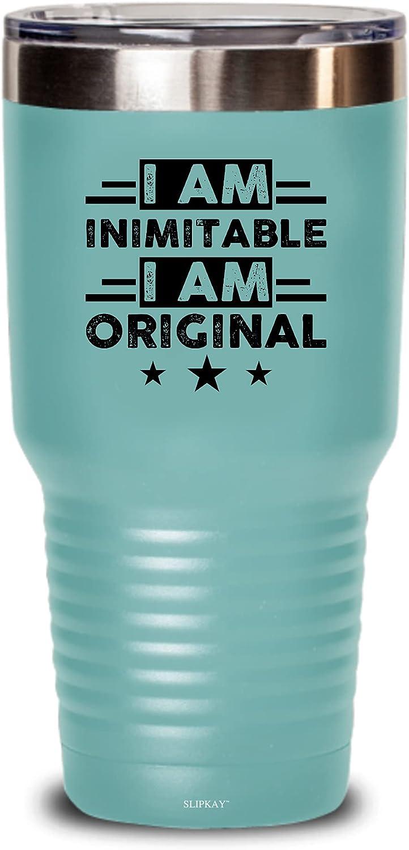 I Am Inimitable An Tumbler Original Gifts 30oz Max Bargain sale 63% OFF