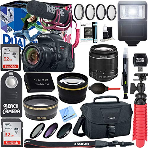 Canon EOS T7i with Accessory Bundle 5