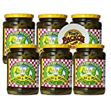 Tony Packo's Sweet Hot Pickles and Peppers, 24 Ounce Jars (Pack of 6) with Jar Opener