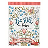 Be Still and Know | 20 Inspirational and Exquisitely Designed Cards To Color | Expressions of Faith to Inspire Creativity and Relaxation | Stationery Postcard Size, 6.5 x 4.75