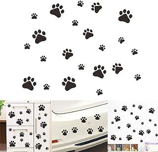 VintageBee Dog Paw Prints Sticker Dog Pup Removable Vinyl Wall Sticker Decoration Décor For Children Nursery Room Home Déc...