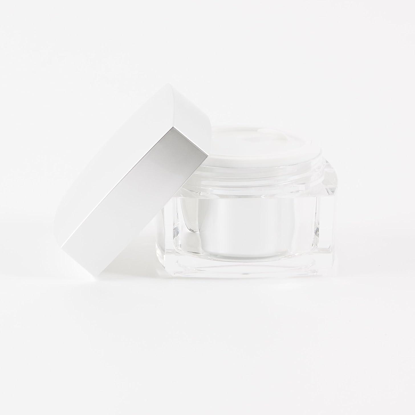 タイト計算可能熱心Verve Acrylic Jar Silver 50ml x 10