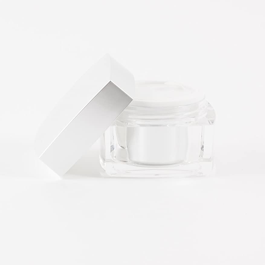 姓支配する統合Verve Acrylic Jar Silver 50ml x 10