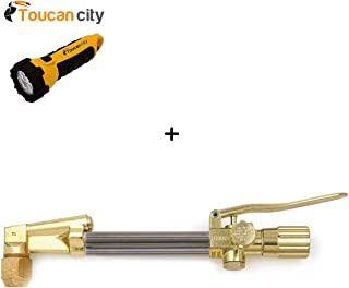 Toucan City LED flashlight and Lincoln Electric 72-3 Cutting Attachment 1300380