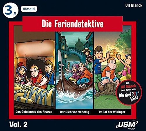 Die Feriendetektive Hörbox 2 Folgen 4-6