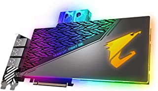Gigabyte GV-N2080AORUS X  WB-8GC - Tarjeta gráfica AORUS (GeForce RTX 2080, Waterblock, 8 GB, GDDR6, 256 bit, 7680 x 4320 Pixeles, PCI Express x16 3.0)