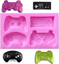 Cake Decoration Clay SAKOLLA Game Controller Mold- Mini Silicone Video Gamepad Mold for Candy,Chocolate Resin