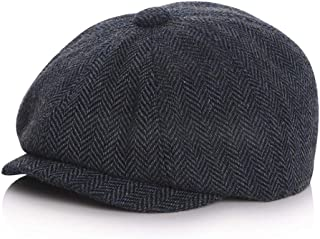 JJSPP New Baby Hat for Boys Vintage Newsboy Kids Cap Baby Boys Hat Autumn Winter Baby Cap (Size : #52)